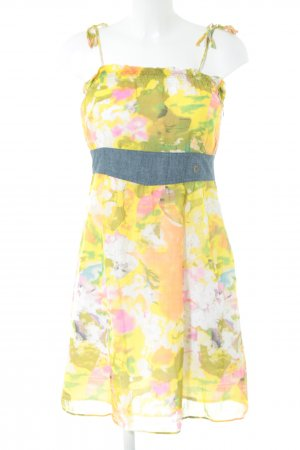 Campus by Marc O'Polo Babydoll-jurk abstract patroon casual uitstraling