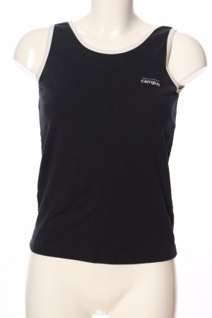 Campus by Marc O'Polo Camisole zwart casual uitstraling
