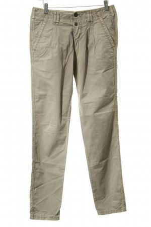 Campus by Marc O'Polo Chinohose graubraun-creme Casual-Look