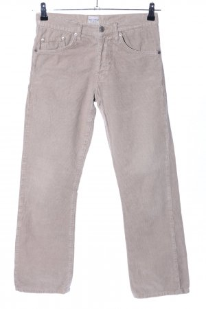 Campus by Marc O'Polo Pantalon en velours côtelé blanc cassé