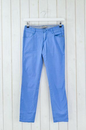 Campus by Marc O'Polo Jersey Pants neon blue cotton