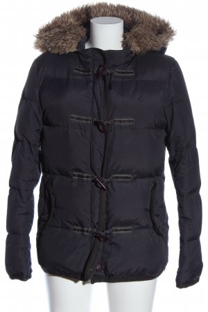 Campus by Marc O'Polo Donsjack zwart casual uitstraling