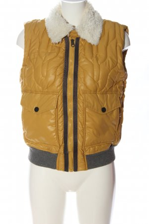 Campus by Marc O'Polo Donsvest sleutelbloem quilten patroon casual uitstraling
