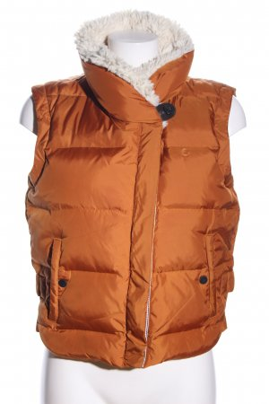 Campus by Marc O'Polo Down Vest light orange quilting pattern casual look
