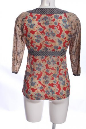 Campus by Marc O'Polo Hemd-Bluse Blumenmuster Casual-Look