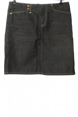 Campus by Marc O'Polo Jeansrock schwarz Casual-Look
