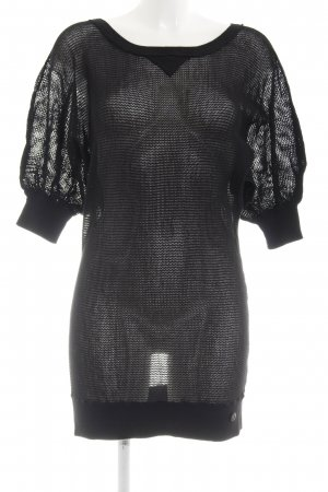 Campus by Marc O'Polo Shortsleeve Dress black mesh look