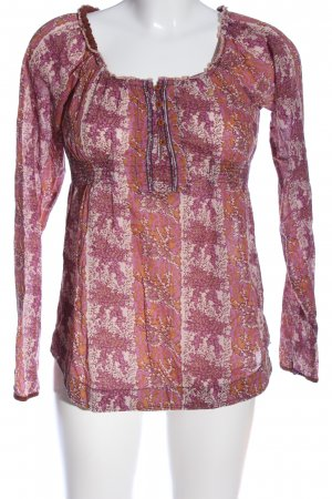 Campus by Marc O'Polo Blouse met lange mouwen abstract patroon