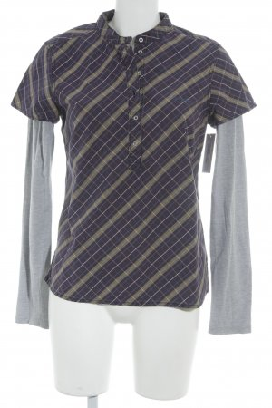 Campus by Marc O'Polo Langarm-Bluse Karomuster Casual-Look
