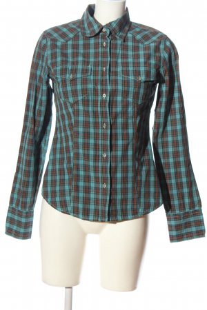 Campus by Marc O'Polo Long Sleeve Shirt green-brown allover print