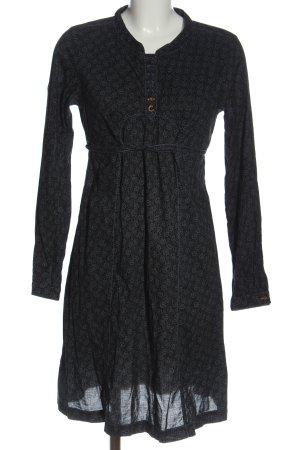 Campus by Marc O'Polo Longsleeve Dress black-light grey allover print