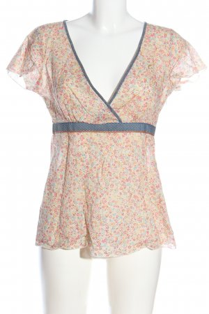 Campus by Marc O'Polo Slip-over blouse volledige print casual uitstraling