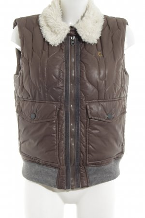 Campus by Marc O'Polo Quilted Gilet quilting pattern casual look