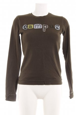 Campus by Marc O'Polo Sweatshirt khaki Casual-Look