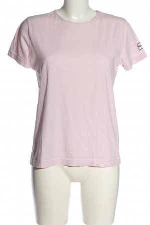 Campus by Marc O'Polo T-shirt roze gestippeld casual uitstraling