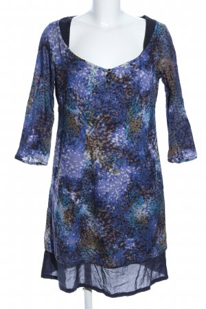 Campus by Marc O'Polo Tunic Dress blue abstract pattern casual look