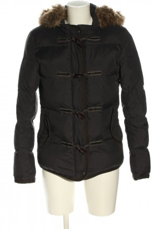 Campus by Marc O'Polo Winter Jacket black quilting pattern casual look