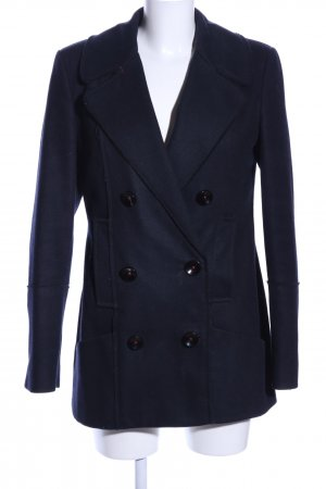 Campus Heavy Pea Coat blue business style