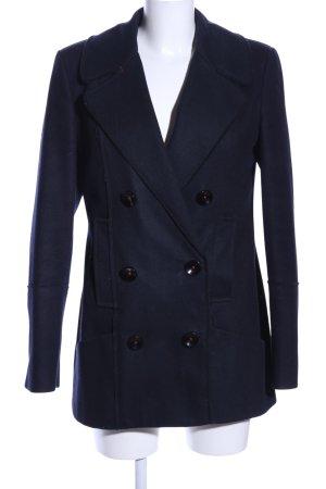 Campus Marynarski płaszcz niebieski W stylu biznesowym