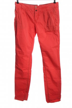 Campus Chinohose rot Casual-Look