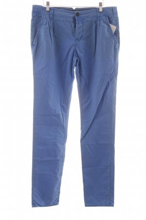 Campus Chinohose kornblumenblau Casual-Look