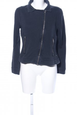 Campus Collegejacke blau Casual-Look