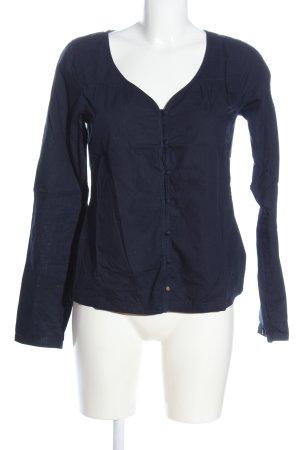 Campus Hemd-Bluse blau Casual-Look