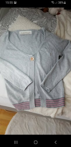 Campus by Marc O'Polo Veste en tricot gris clair
