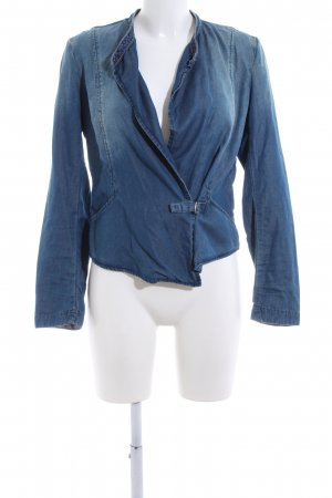 Campus Jeansbluse blau Casual-Look