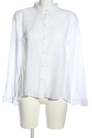 Campus Koszula z długim rękawem biały W stylu casual