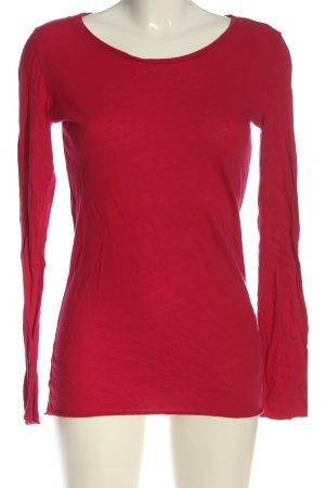 Campus Koszulka z długim rękawem czerwony W stylu casual