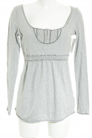 Campus Longsleeve grau Casual-Look