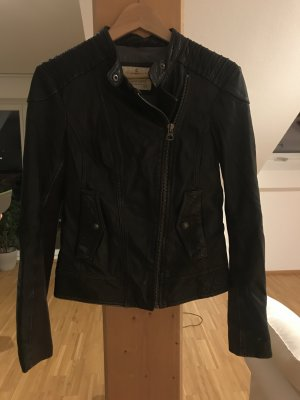 Campus by Marc O'Polo Biker Jacket black leather