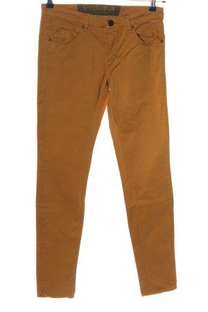 Campus Spodnie rurki brązowy W stylu casual