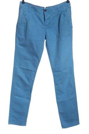 Campus Spodnie rurki niebieski W stylu casual