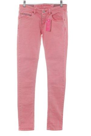 Campus Röhrenhose rosa