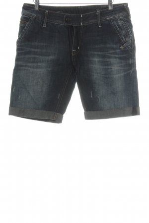 Campus Shorts dunkelblau Casual-Look