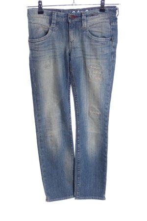 Campus Skinny Jeans blau Casual-Look