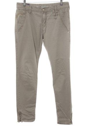 Campus Skinny Jeans hellbeige Casual-Look