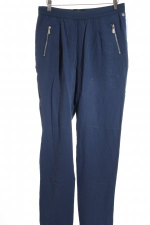 Campus Stoffhose blau Casual-Look