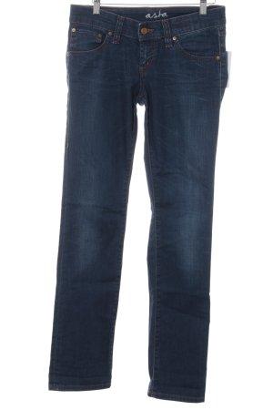 "Campus Straight-Leg Jeans ""ASTA"" dunkelblau"