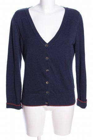 Campus Strickjacke blau Casual Look