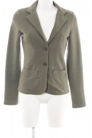 Campus Sweatblazer khaki meliert Business-Look