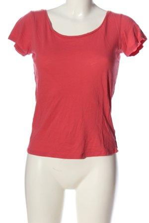 Campus T-shirt czerwony W stylu casual