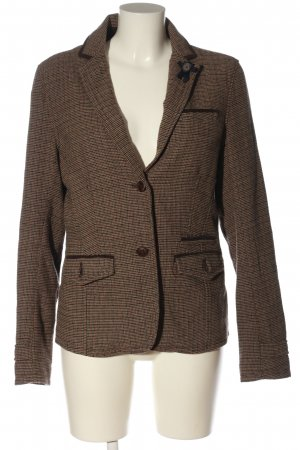 Campus Woll-Blazer Karomuster Business-Look