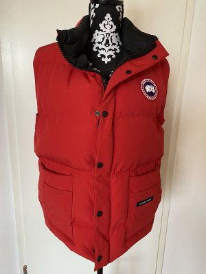 Canada Goose Down Vest red