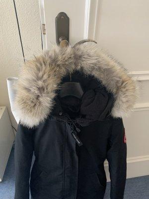Canada goose Jacke Mantel Daunenjacke Echtfell xs 34 Victoria