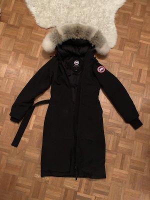 Canada Goose Winterjas zwart-wolwit