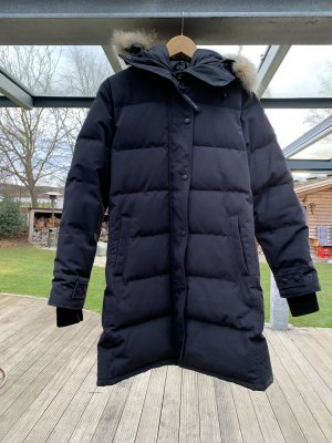Canada Goose Down Coat dark blue