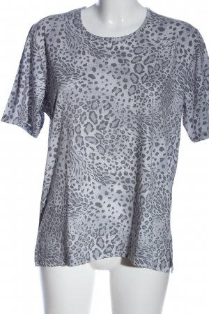 CANADA Short Sleeved Blouse light grey-black casual look